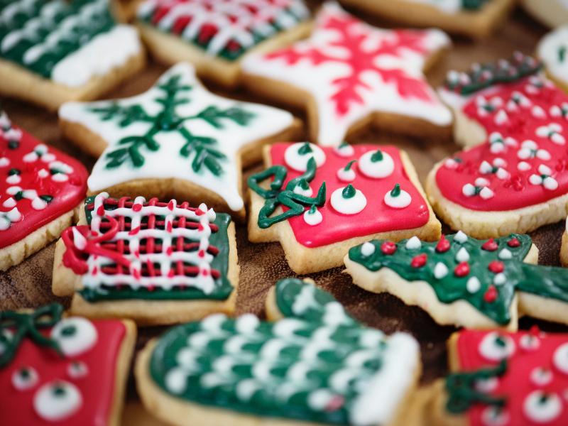 Some festive Christmas cookies