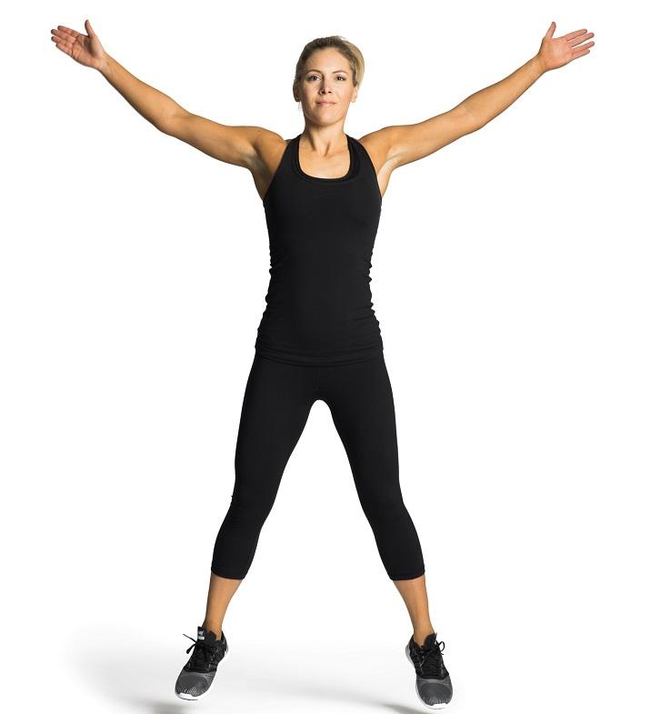 How many calories does jumping jacks burn