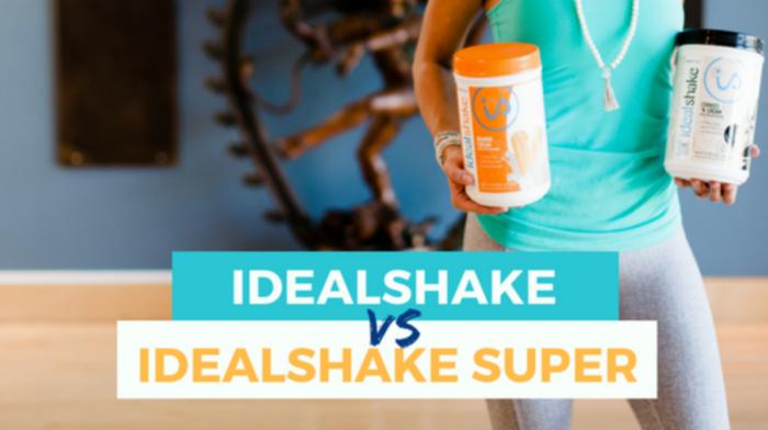 IdealShake vs IdealShake Super