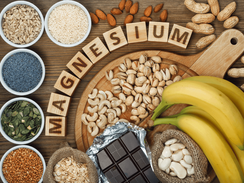 how much magnesium is in my foodthrough diet