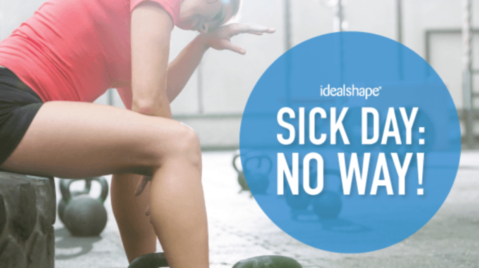 5 Common Sense Rules for Exercising when Sick