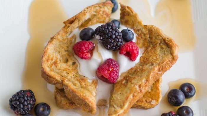 Breakfast In Bed: Make the Best Healthy French Toast for Mom