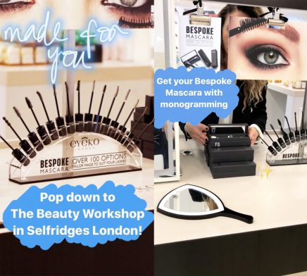 3 Steps to the Perfect Mascara Made for You: Eyeko Bespoke Mascara Bar at Selfridges Now!