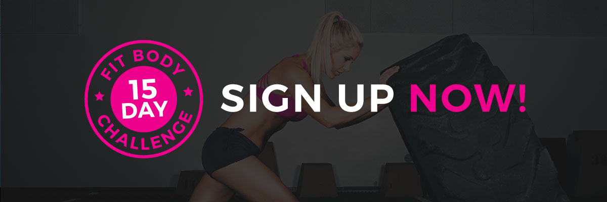15 Day Sign Up Now with Trainer Lindsey