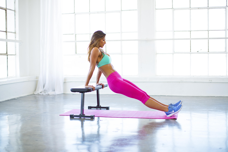 Karina Elle workout