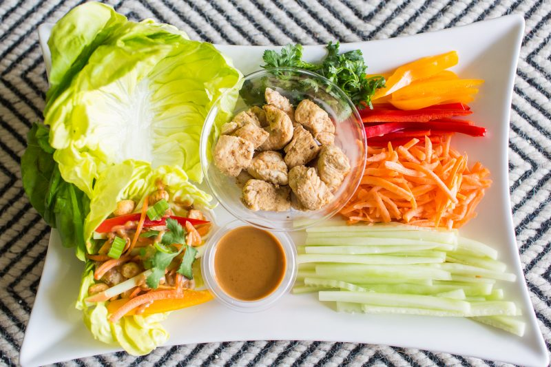 Thai Lettuce Wraps
