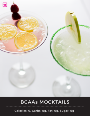 Mocktails using IdealFit BCAAs