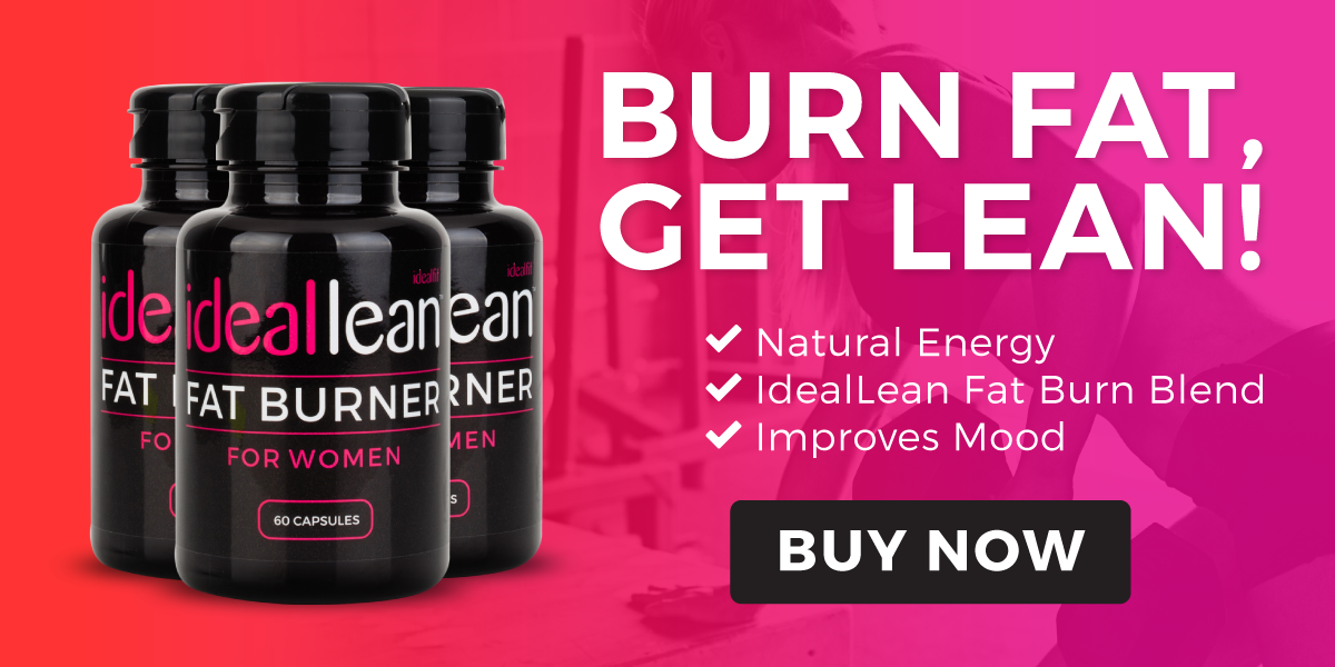 IdealLean Fat Burner, natural energy, boost metabolism