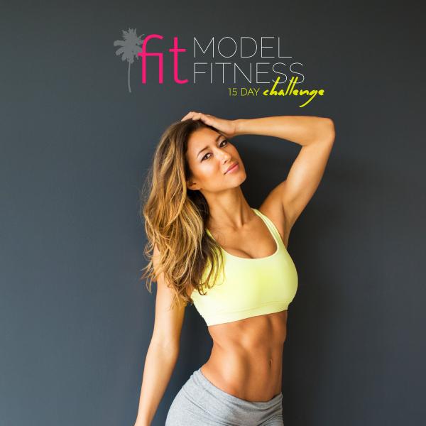 Karina Elle's 15 Day Fit Model Fitness Challenge