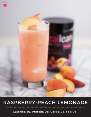 Raspberry Peach BCAAs Lemonade
