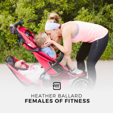 Females Of Fitness - Heather Ballard