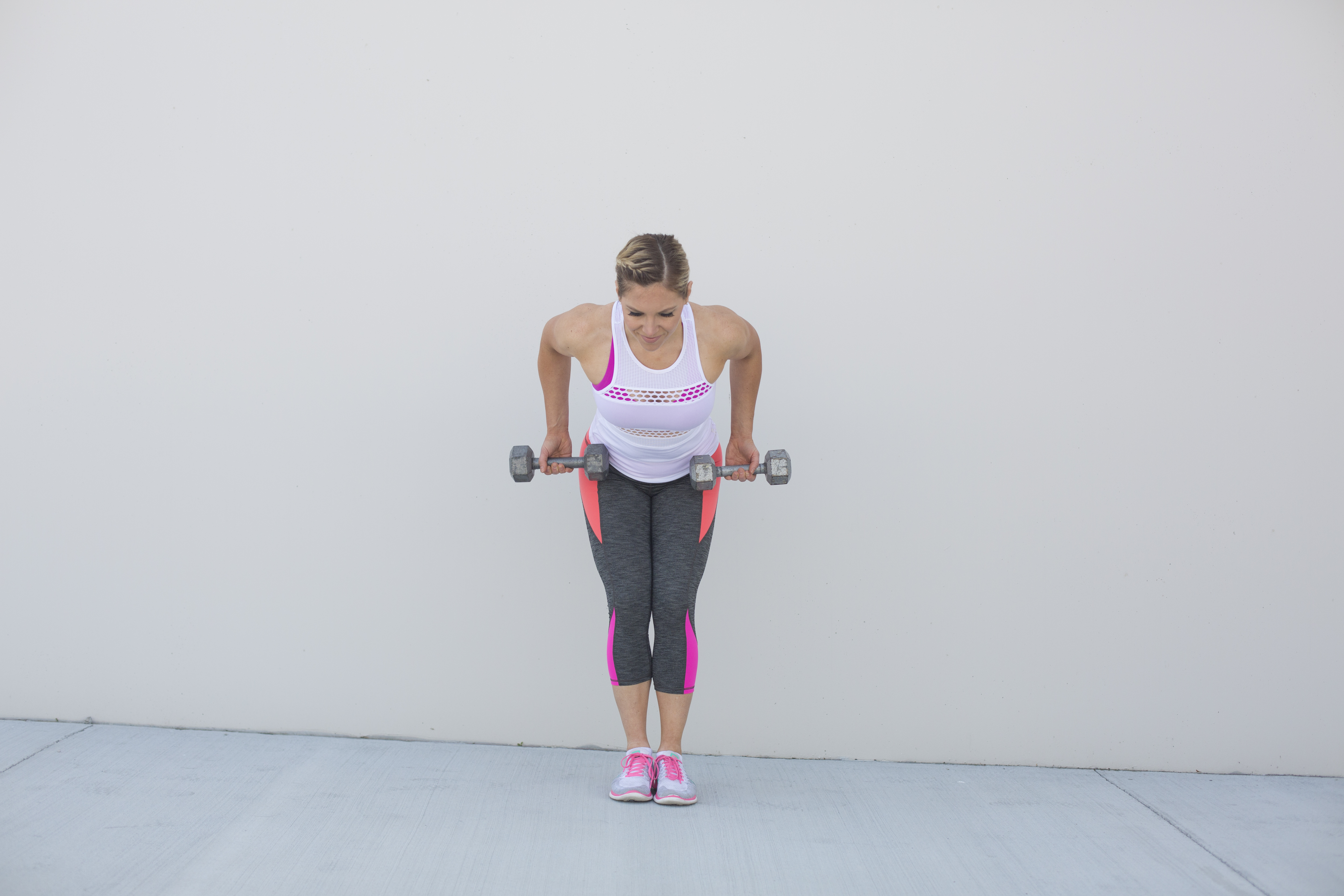 Bent Over Row Exercise Form Step 2