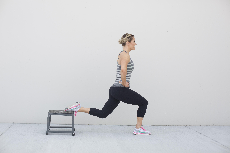 Bulgarian Split Squat Exercise Step 2