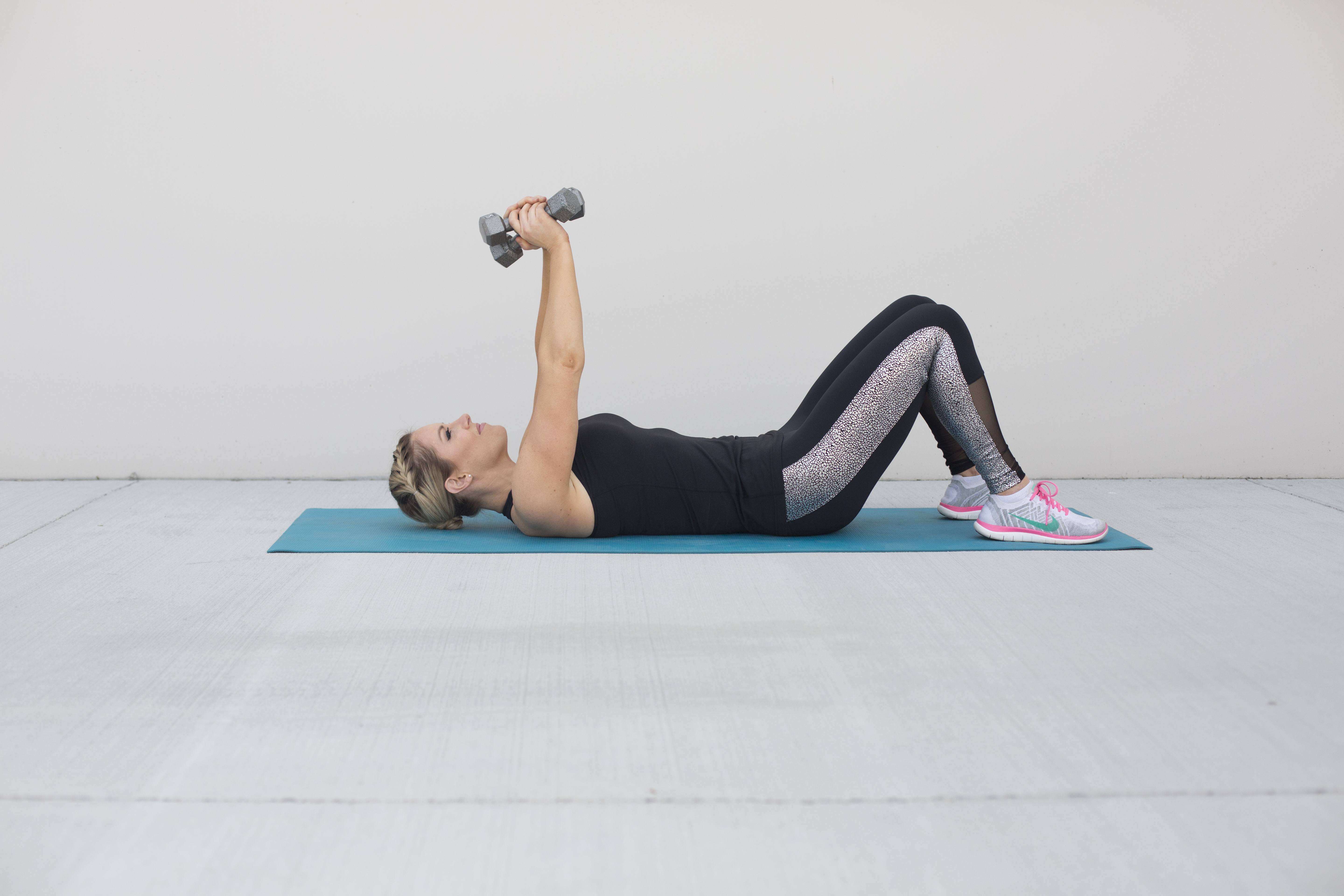 Dumbbell Pullover Exercise Step 1