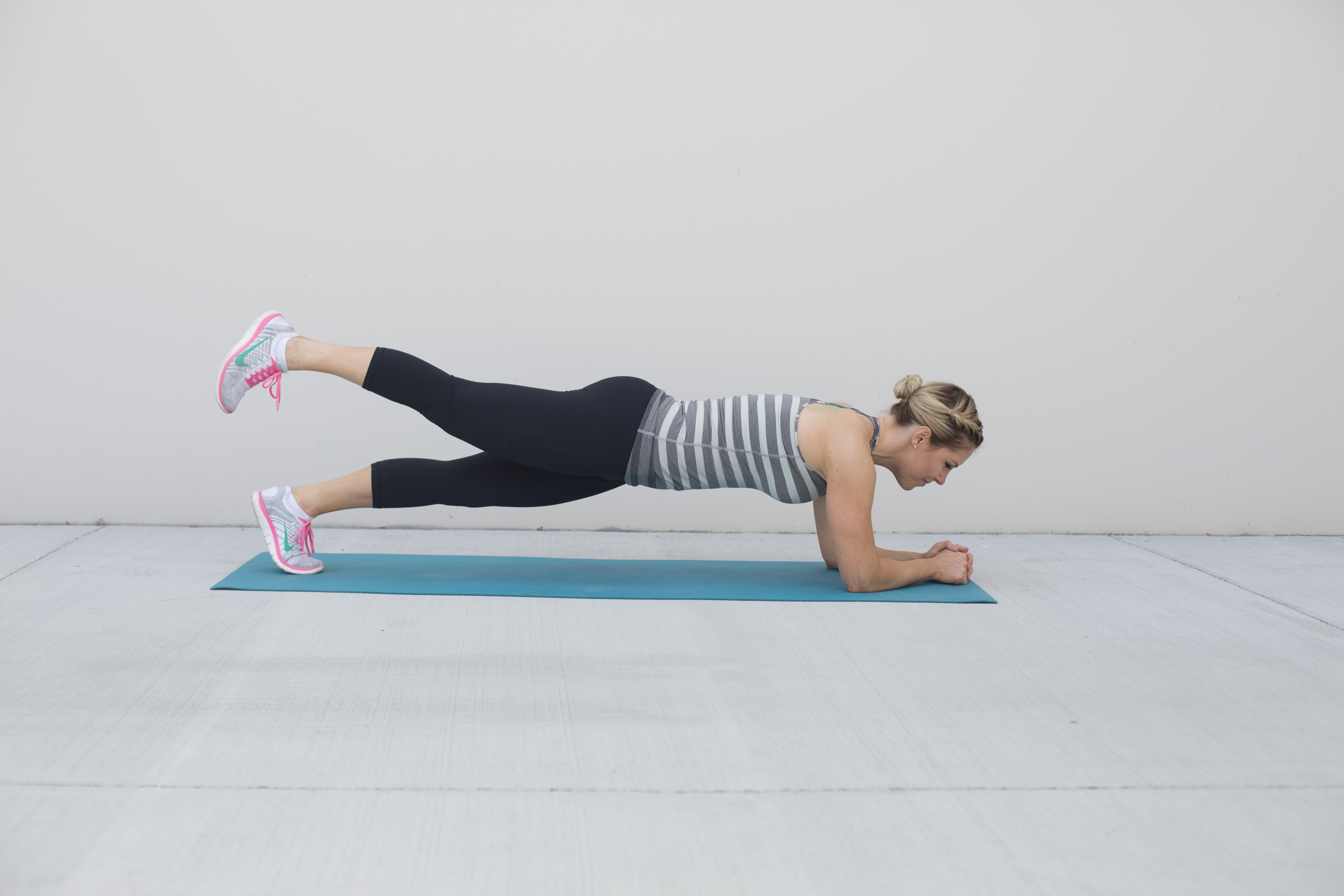 Plank Leg Lifts Exercise for Glutes