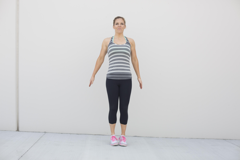 Pop Squat Exercise Step 2