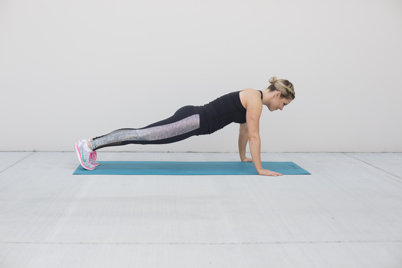 Proper Push-Up Form Step 1