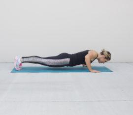 Proper Push-Up Form Step 2