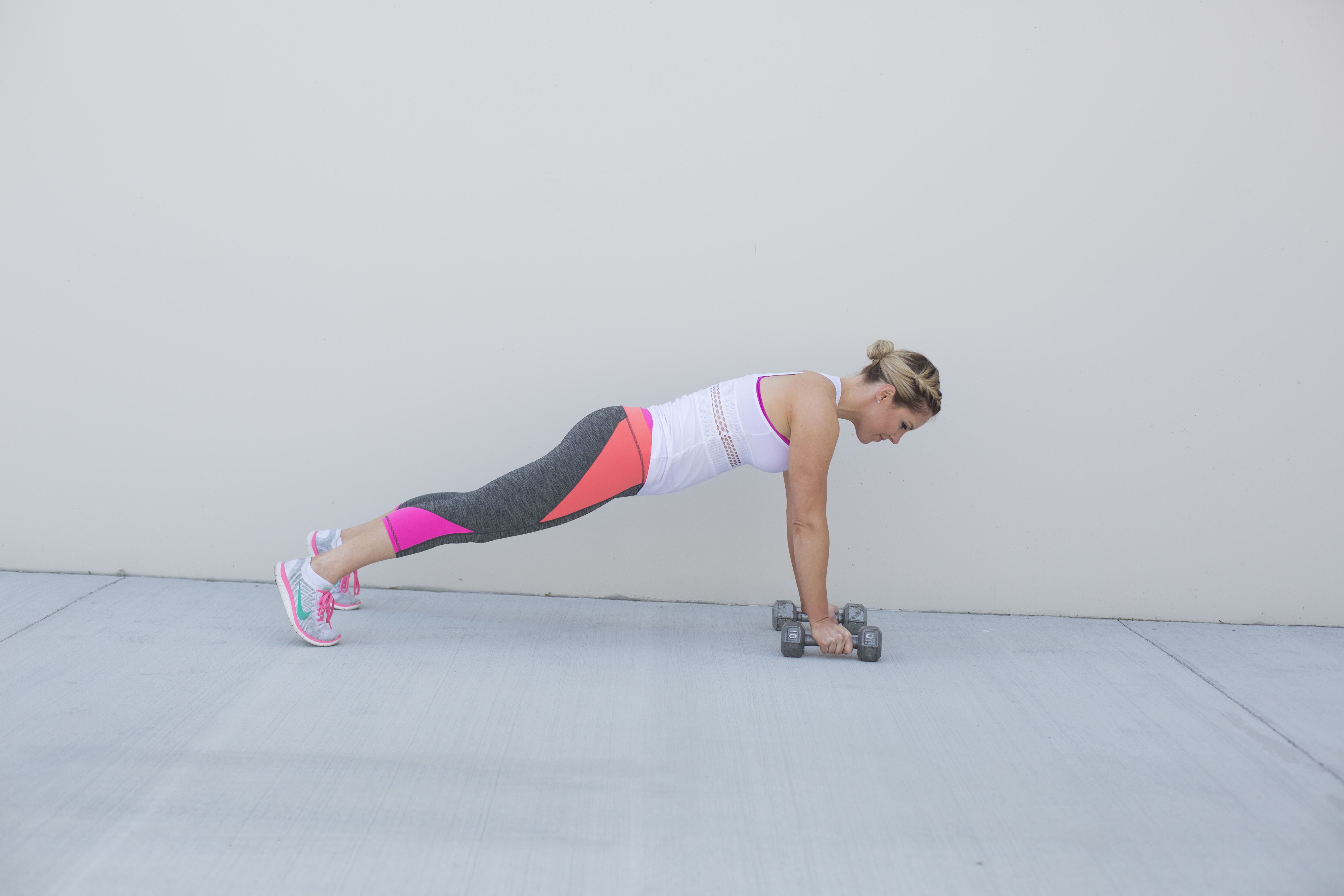Renegade Row Back Exercise Step 1