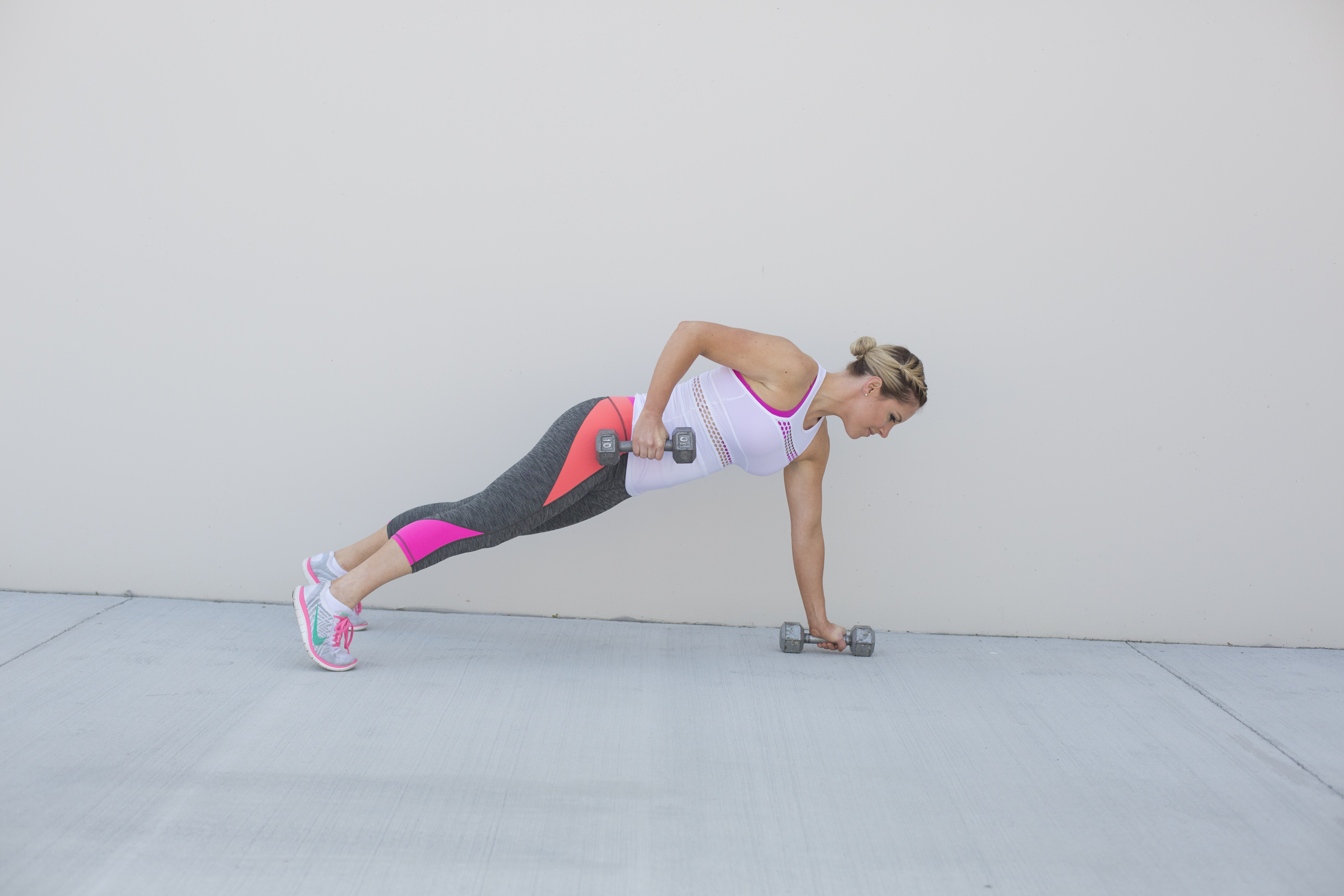 Renegade Row Back Exercise Step 2