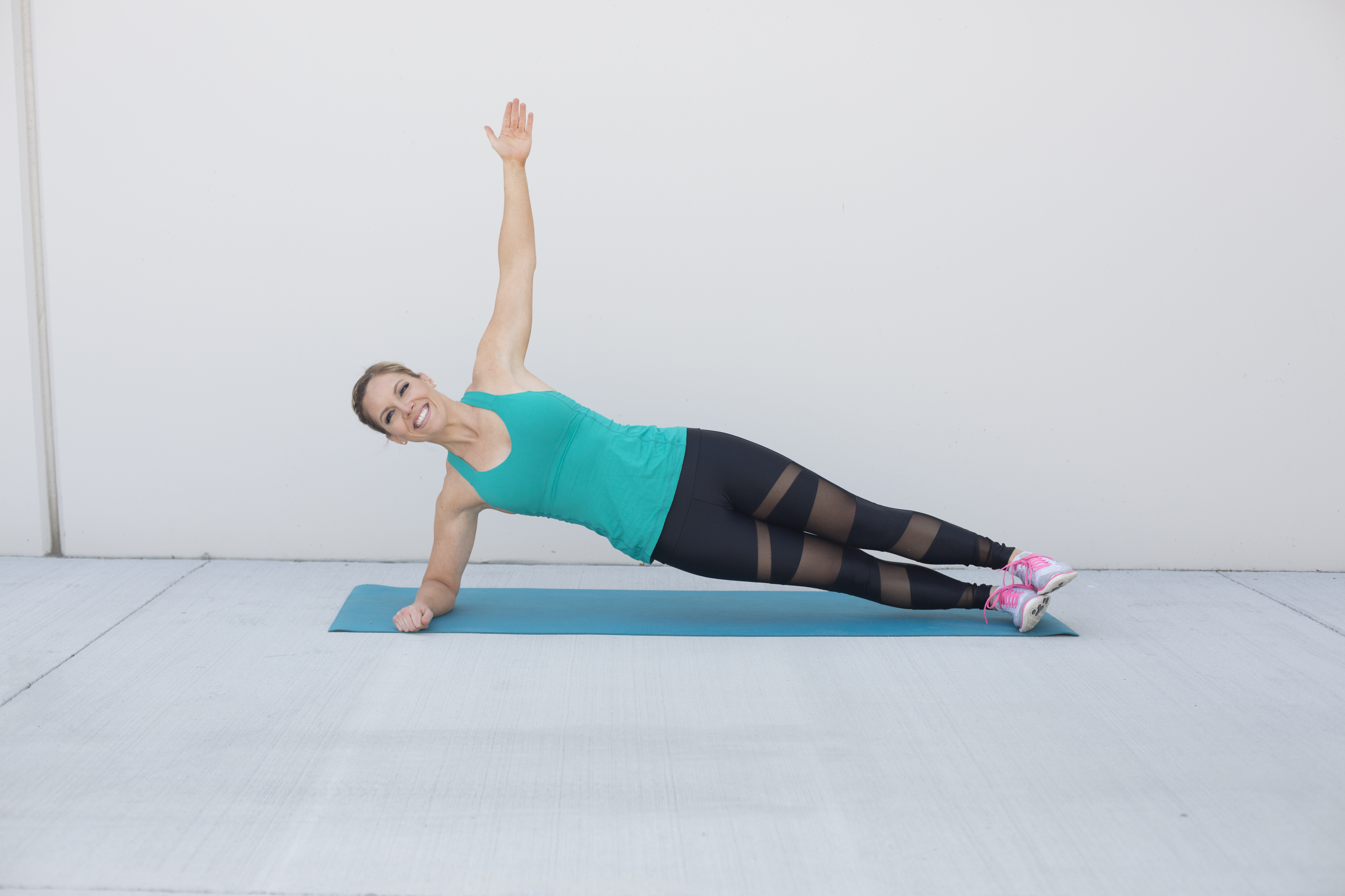 Side Plank Ab Exercise