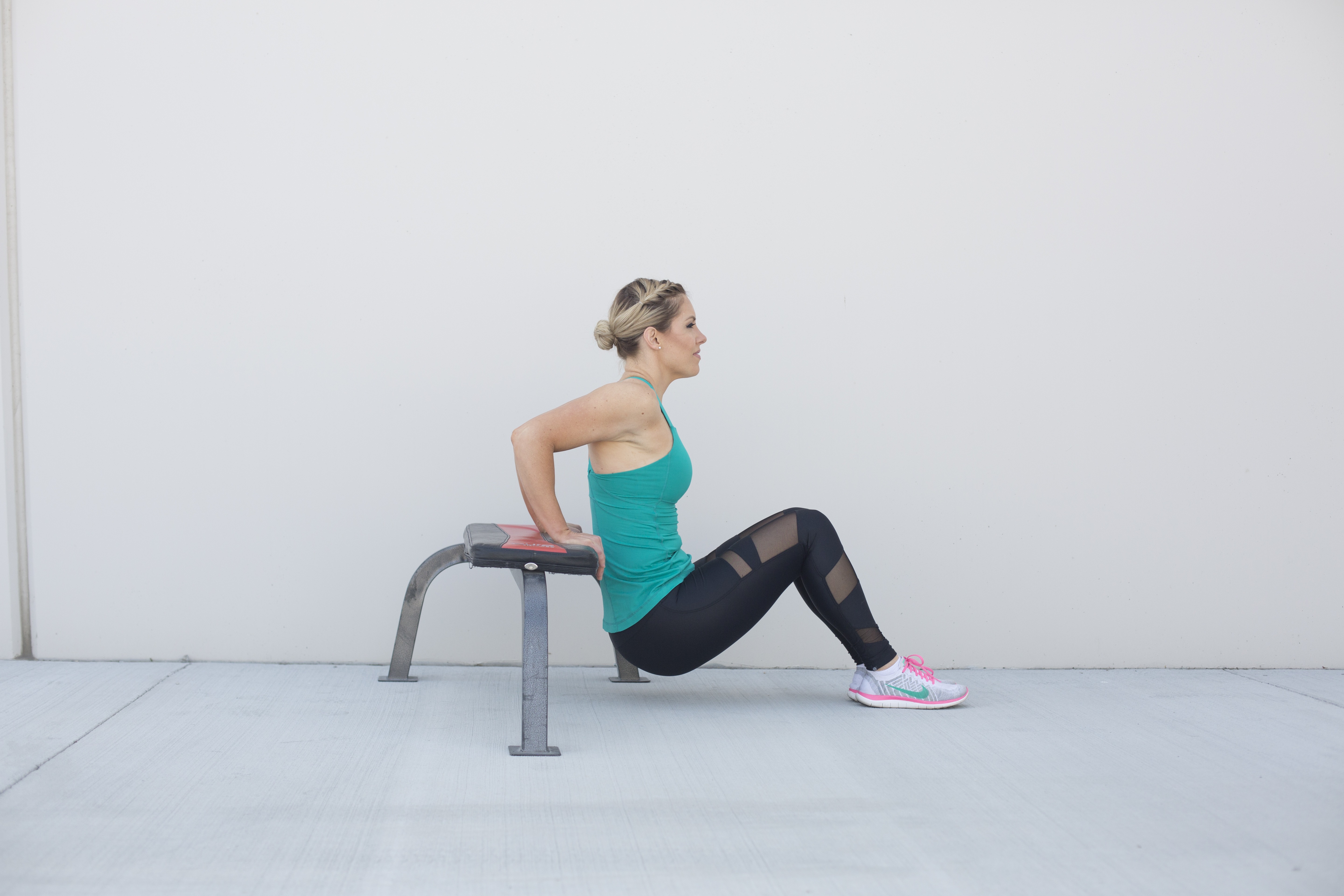 Tricep Dip Exercise Form Step 2