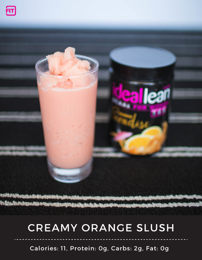 BCAA creamy orange slush