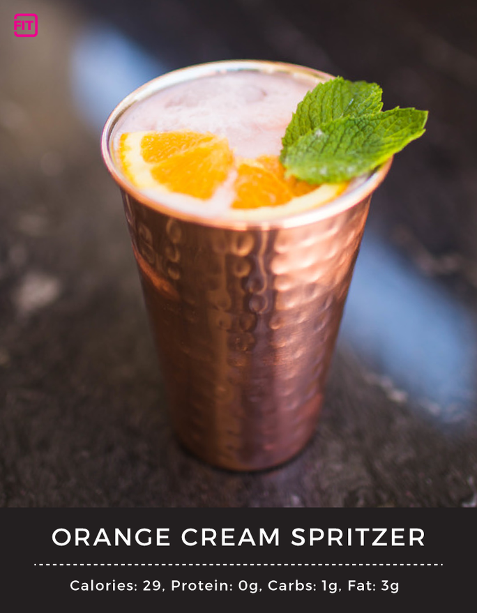 BCAA orange cream spritzer