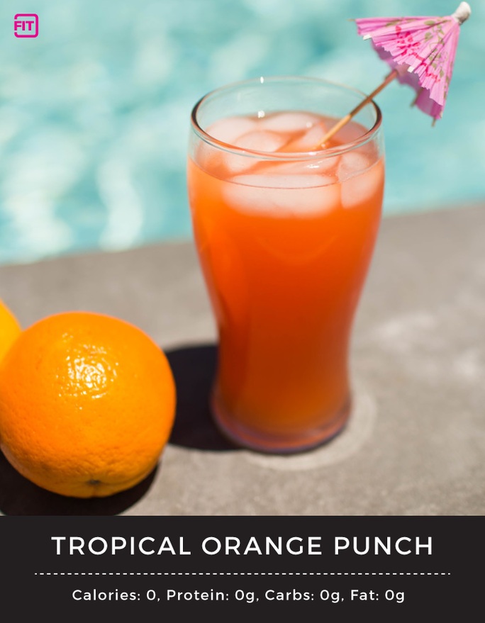 BCAA tropical orange punch recipe