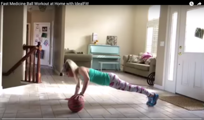 Lindsey's Basketball Workout Video