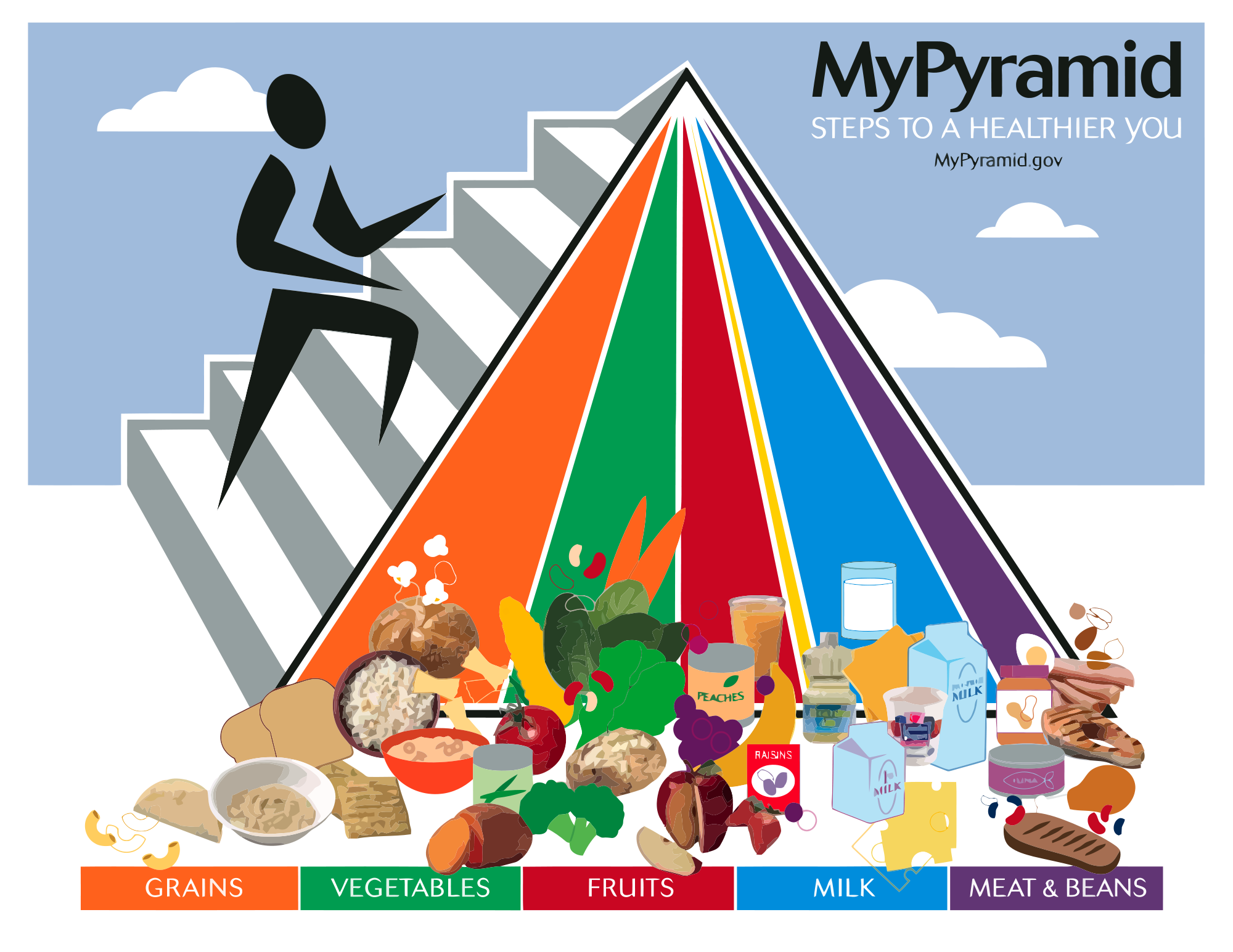 this the the food pyramid