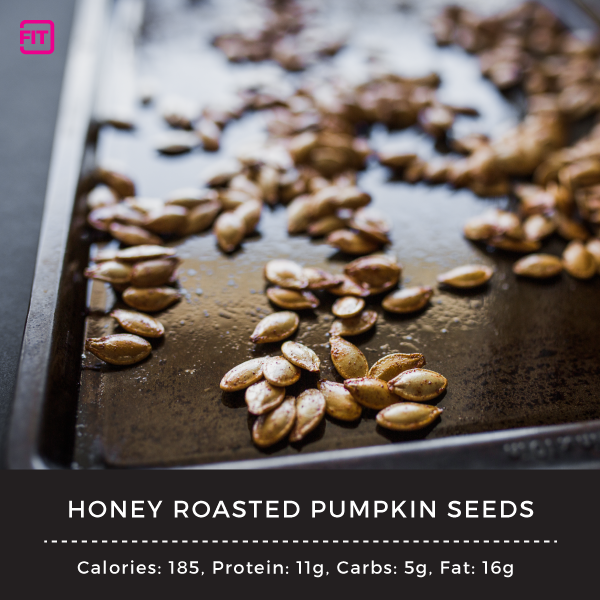 Nighttime snacks Honey-Roasted-Pumpkin-Seeds