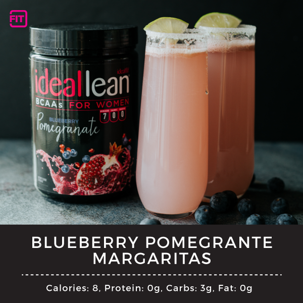 blueberry pomegranate margarita