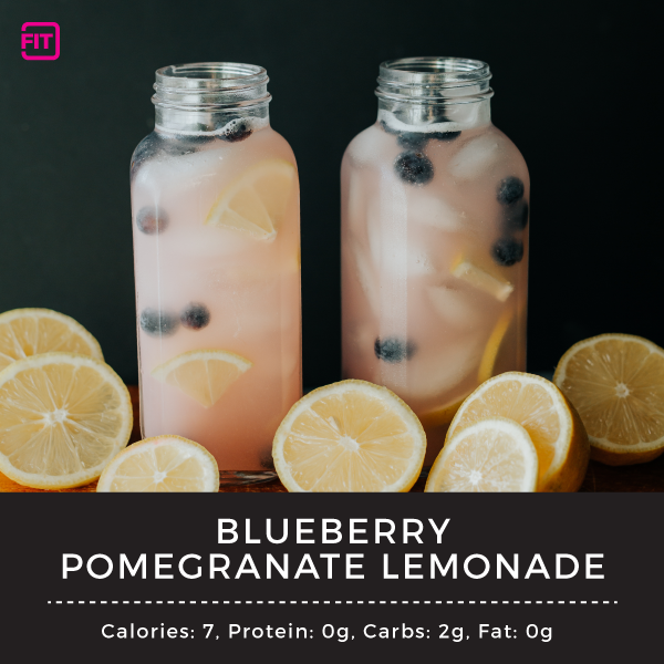 blueberry pomegranate lemonade
