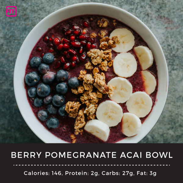 Berry Pomegranate Acai Bowl