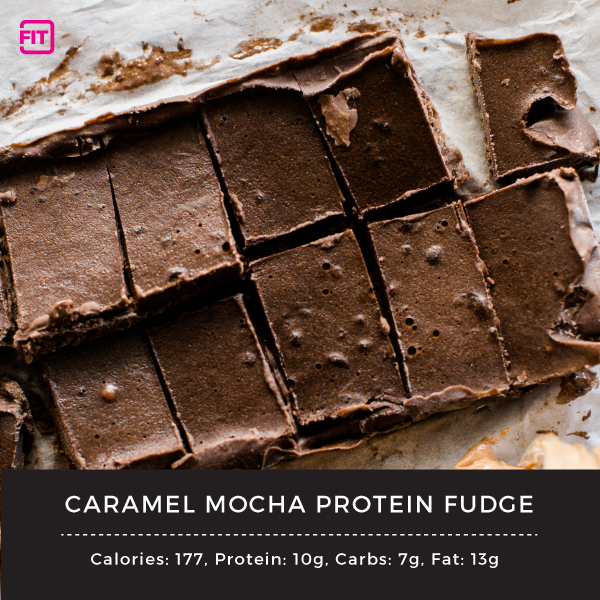 Caramel Mocha Protein Fudge
