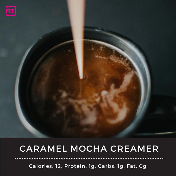 caramel mocha creamer