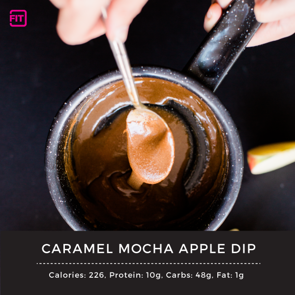 Caramel Mocha Apple Dip