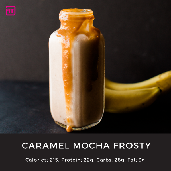 Caramel Mocha Frosty