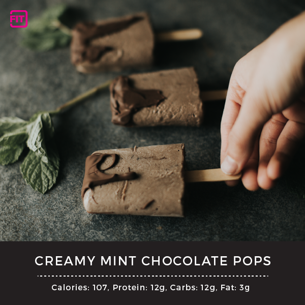 Mint Chocolate Pops - with Mint Chocolate IdealLean Protein