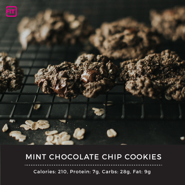Mint chocolate cookies - with IdealLean Protein