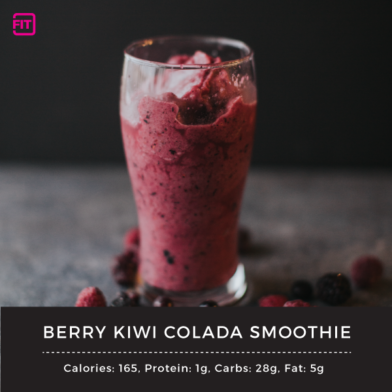 Berry Kiwi Colada Smoothie