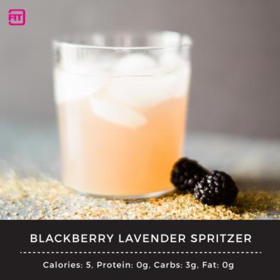 Blackberry Lavender Spritzer