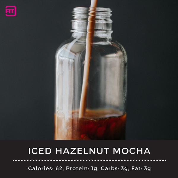 iced hazelnut mocha