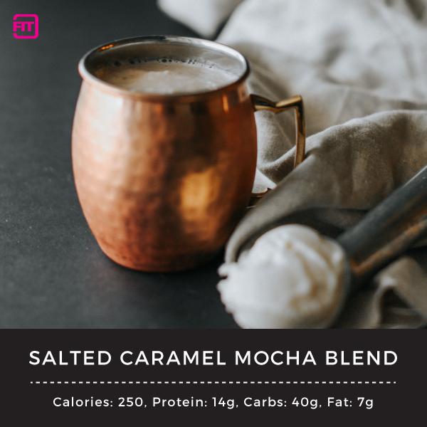 Salted caramel mocha blend