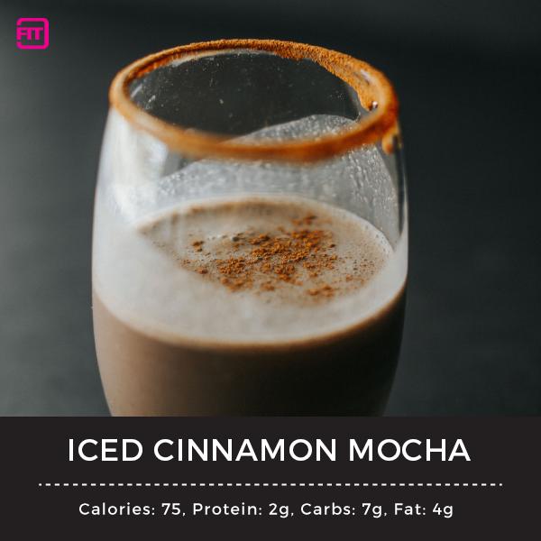 iced cinnamon mocha