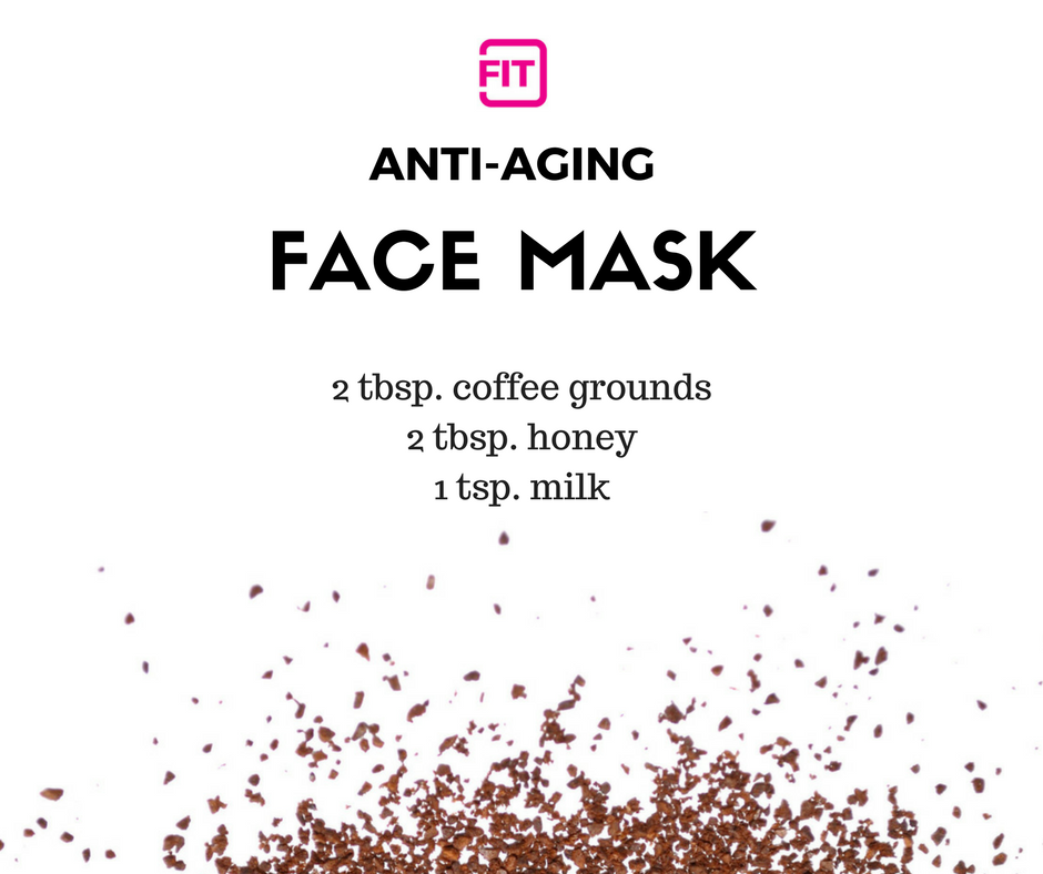 easy DIY face mask to try for anti aging