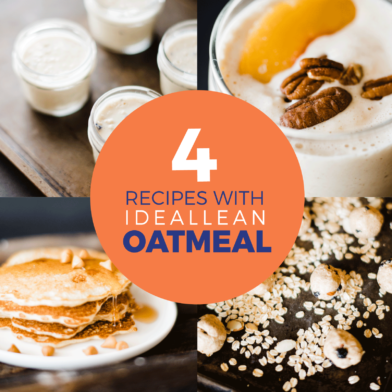 4 Breakfast Recipes Made With IdealLean Oatmeal