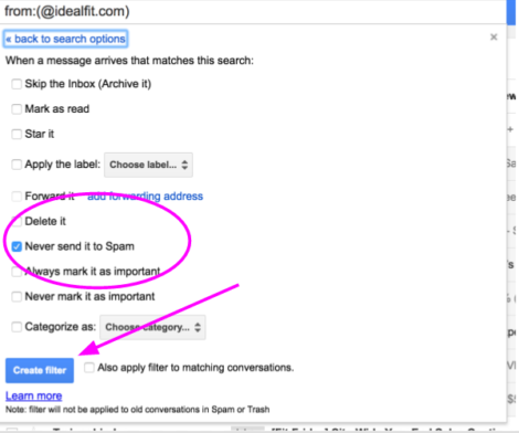 How to Guide: Make Sure You're Getting IdealFit Emails