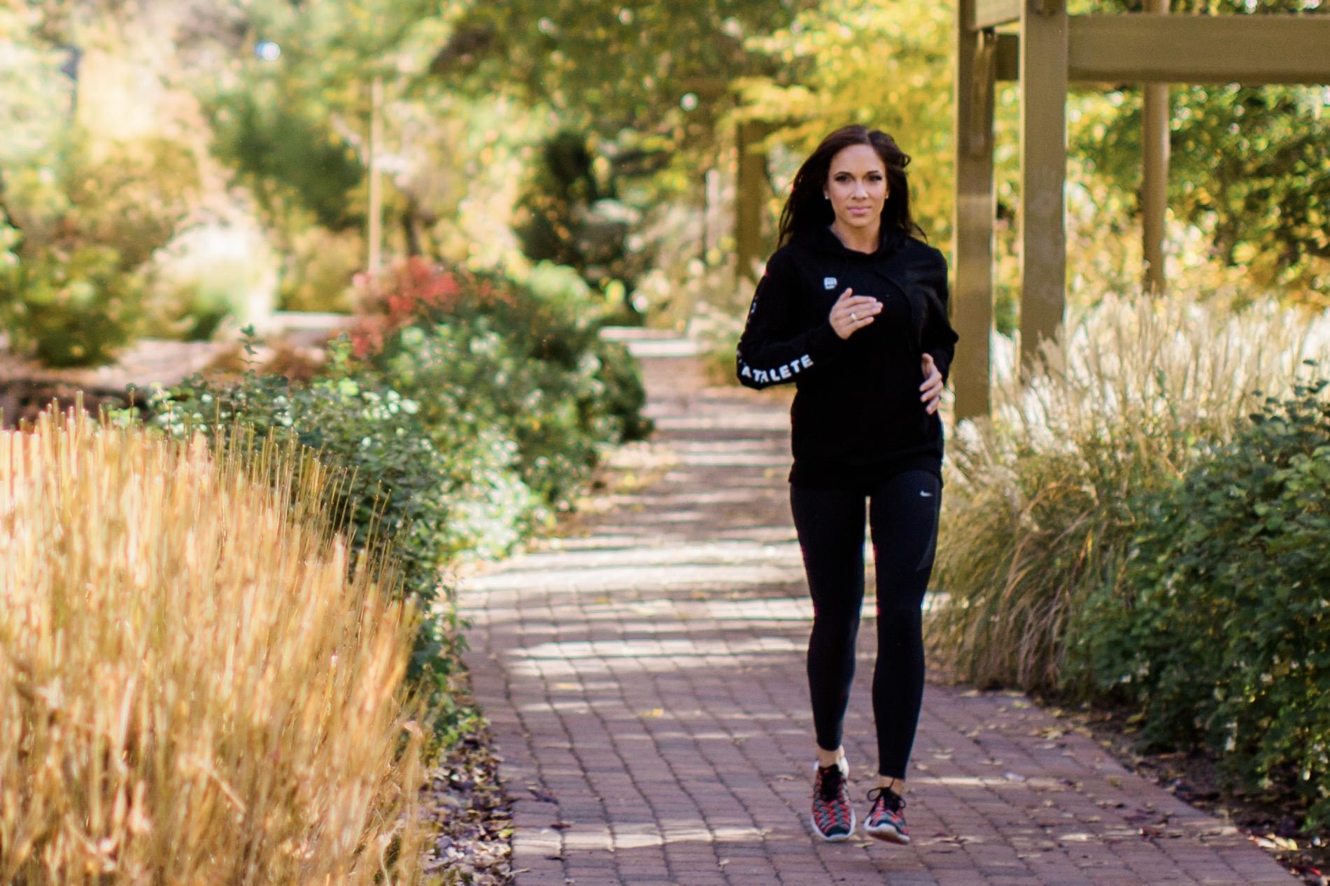 Tamara running